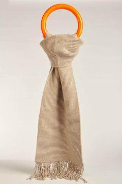 Beige Gomito scarf