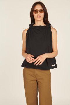 Black Fleece sleeveless top