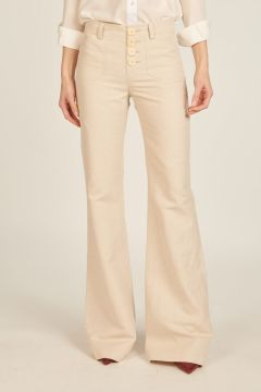 Ivory Charlotte trousers