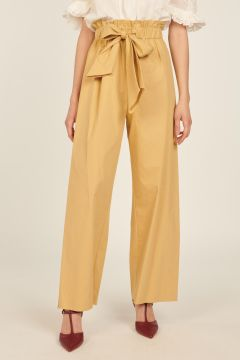 Palazzo pants with bow
