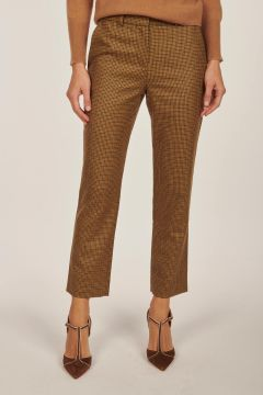 Audrey houndstooth trousers