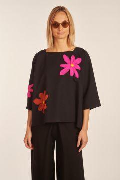 Black Fiorito tunic
