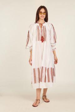 White and red Shashi dress