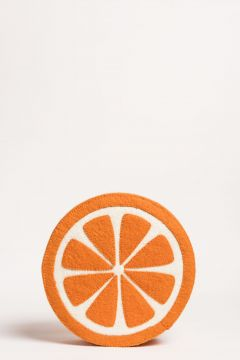 wall decor orange