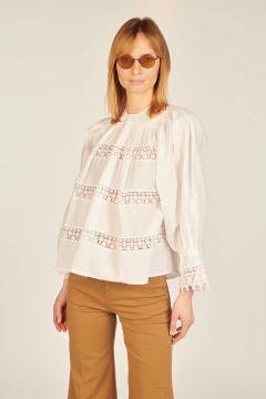 Camicia Gulab bianca