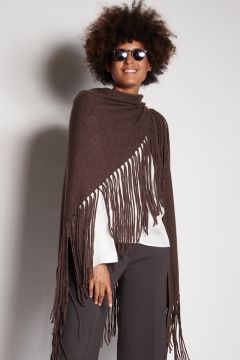 Stole with fringes