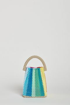 Multicolor hand bag