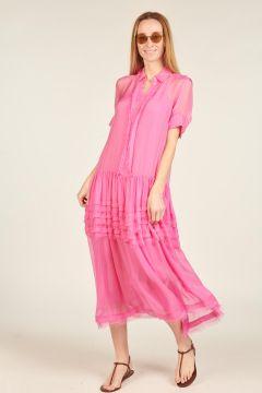Fuxia Cinnamon dress