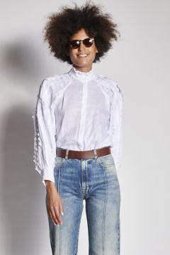 Camicia bianco sangallo