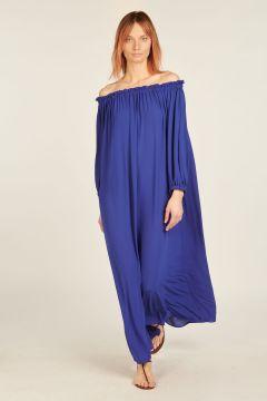 Blue Barbara long dress