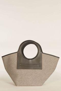 Medium Cala bag with black profiles