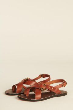 Cognac Florence sandals