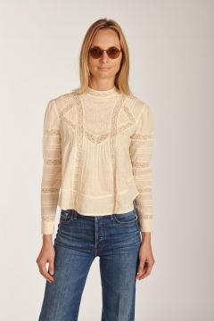 Celestin ivory shirt