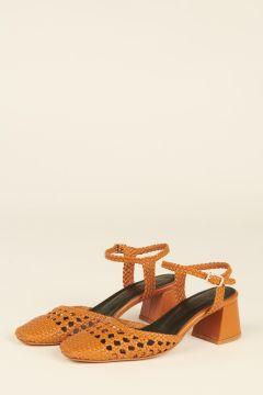 Cibeles woven strips sandals