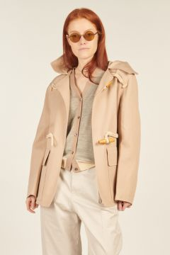 Clare Hooded Montgomery Jacket
