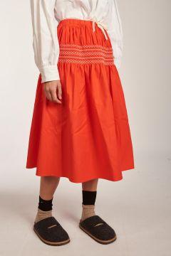 Red Saudad skirt