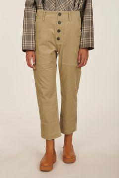 Pilot origan cropped cotton pants