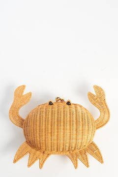 Straw crab clutch