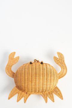 Straw crab clutch