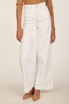 Pantalone in denim ecru Soul