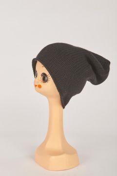 Black shaved hat