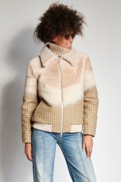 Pied de poul jacket