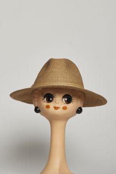 Beige Man Flap Hat