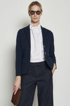 Blue cotton jacket