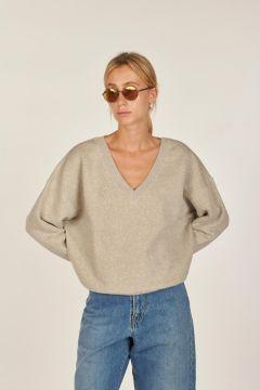 Fioush sweatshirt V neck