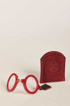 Rojo red glasses