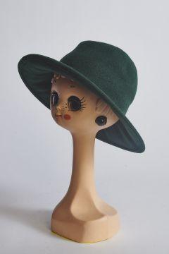 Soft green hat