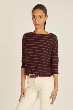 Linen Ghymo Striped T-shirt