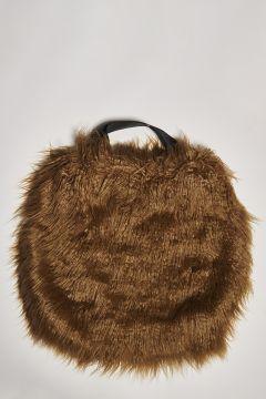 Eco-fur tobacco bag