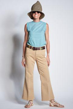 Beige denim India Jeans