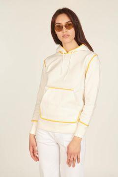 Ivory and yellow Johnny sweatshirt