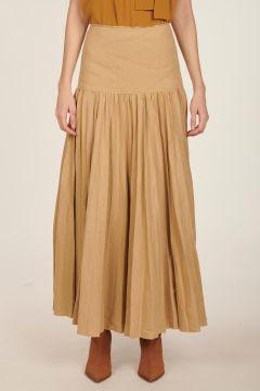 Sven pleated shape skirt