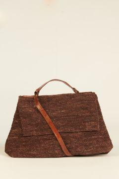 Brown Lahady city bag