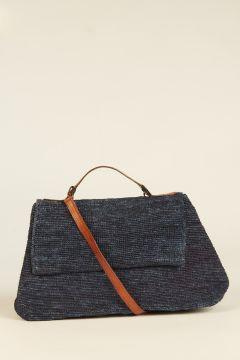 Navy Blue Lahady city bag