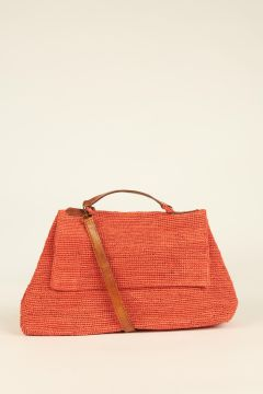 Orange Lahady city bag