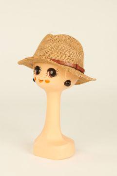 Tea Lubeman raffia trilby hat