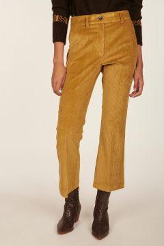 Pantalone cammello in velluto rocciatore Indra