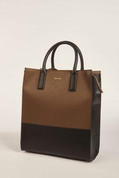 Black and khaki Kira handbag