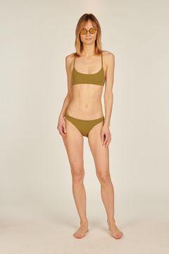 Michelle olive two-piece bikini