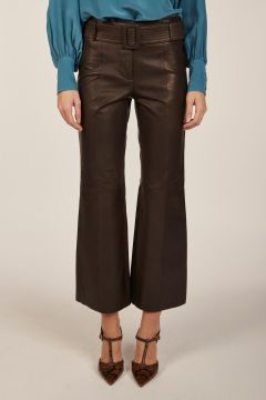 Leather trousers from Milaura