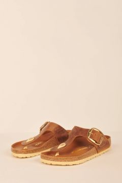 Brown Gizeh thong sandals