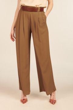 Lanzarote silk blend trousers