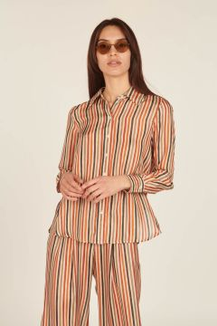 Heron striped shirt