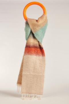 Striped multicolor Myla scarf