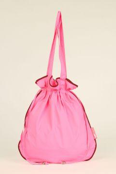 Fuchsia Waterproof Shopping Bag