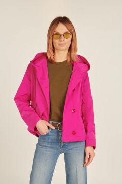 Fuxia Memory windbreaker jacket